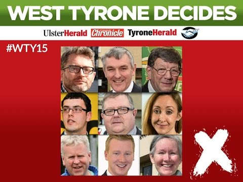 Live: Election Debate - West Tyrone Decides 2015 (** Skip to 50:00 min)
