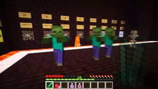 Minecraft: Zombie Arena. Ep 1. Easy!