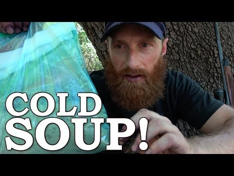 It's GROSS like AQUARIUM WATER! Cold Soup in Survival Ep10 | 100% WILD Food SURVIVAL Challenge!