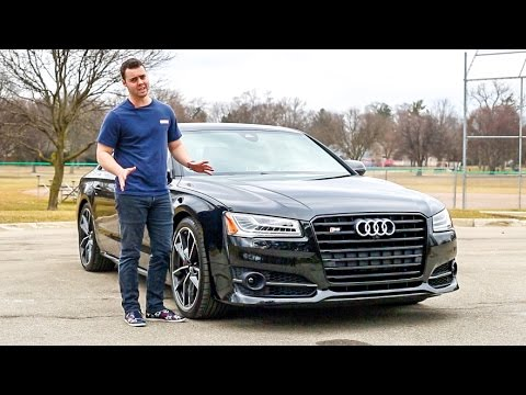 2017 Audi S8 Plus Review - Why It's A Bargain At $130,000