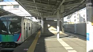 西武鉄道40104F 試運転 東村山5番発車