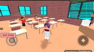 Roblox School obby (Cringey)