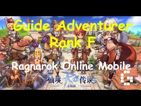 Ragnarok Online Mobile : Guide Adventurer - Rank F Quest