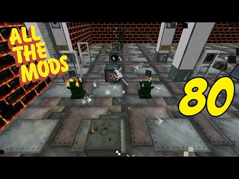 Modded Minecraft All The Mods Episode 80 - Abyssalcraft: PE Work Around - Safe Potential Energy