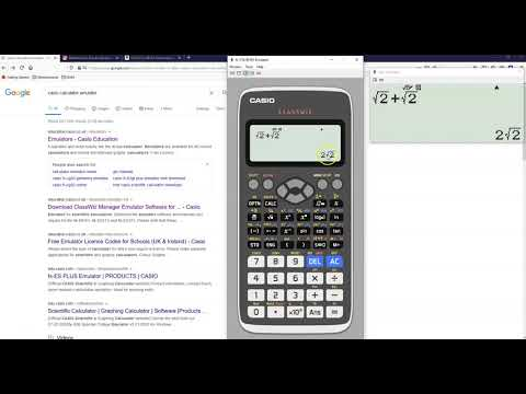 Get A Casio Fx 991ex Advanced Engineering Scientific Calculator Emulator Free For 90 Days Only Youtube