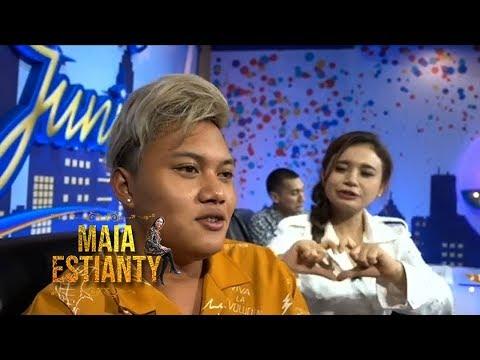 Rizky Febian Salah Tingkah Di Idol Junior #MAIAESTIANTYVLOG #maiaestianty
