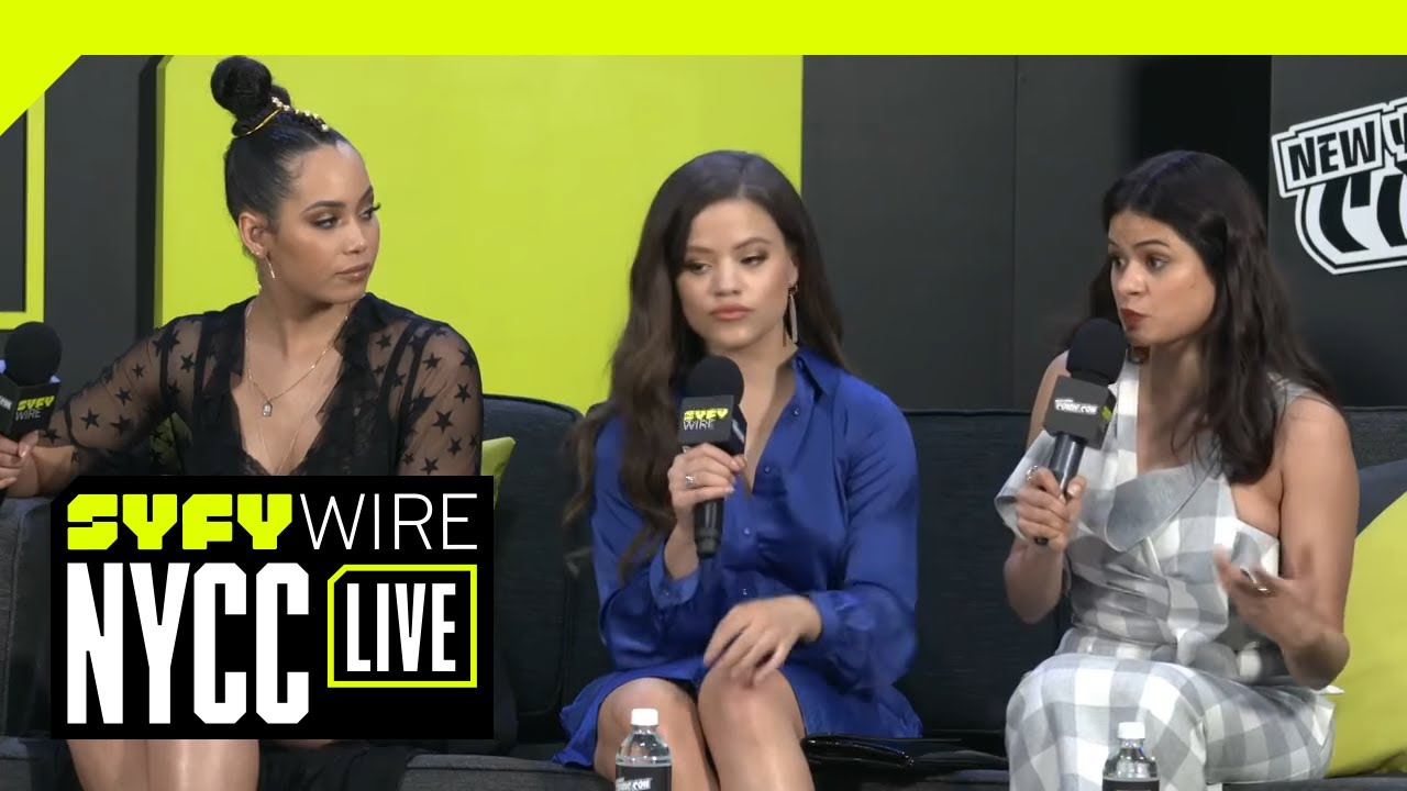 Download The Cast Of Charmed On Sisterhood And Unapologetically Angry Women | NYCC 2018 | SYFY WIRE