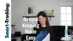 Simple Record Keeping Tips For Truck Drivers