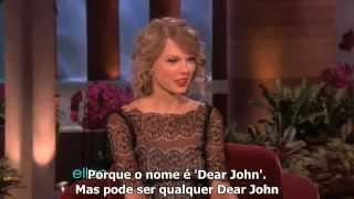 Ellen entra em detalhes sobre os namoros de Taylor Swift (LEGENDADO)