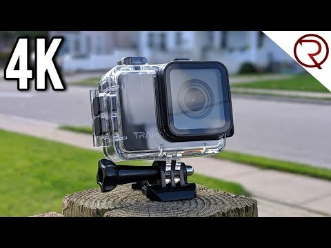 Apeman TRAWO Action Camera Review - Real 4K and EIS