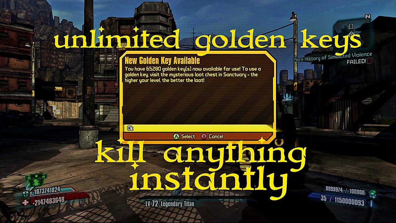 Borderlands 2 unlimited golden keys kill anything youtube borderlands 2 unlimited golden keys kill anything ccuart Gallery