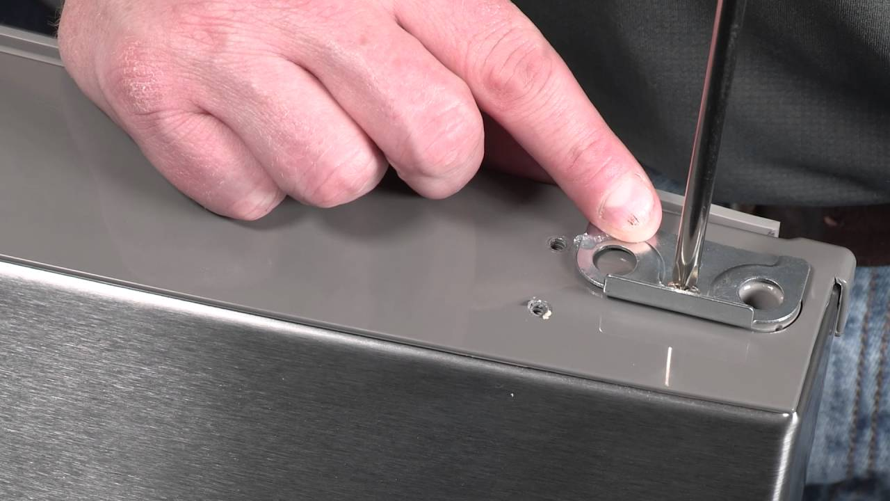 Refrigerator Door Reversal Youtube