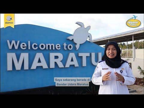 "Bandar Udara Maratua, Gerbang Akses Menuju ""Surga Bawah Laut"" Di Kepulauan Derawan"