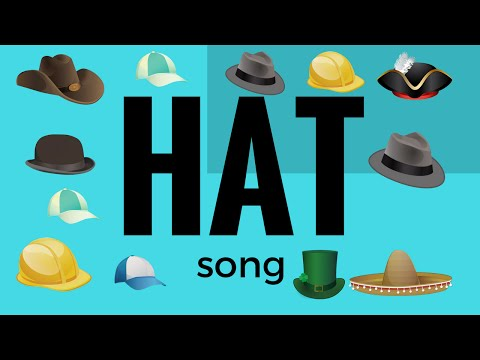 """Songs for kids:""""hat song"""""""