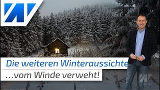 Üble Wintervorhersage 2019/2020: Vom Winde verweht? (Update)