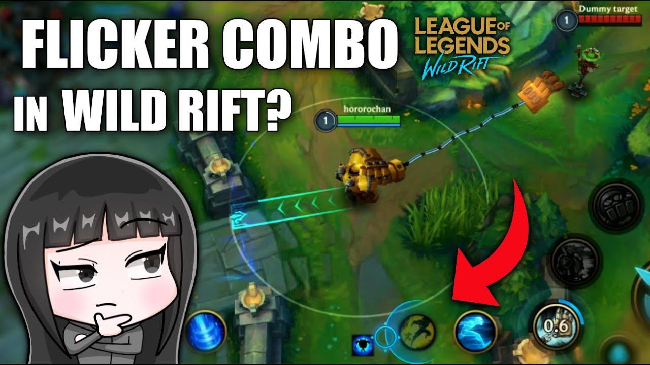 TRYING ML FLICKER COMBO IN WILD RIFT?