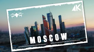 Moscow from above | Cinematic drone video in 4K