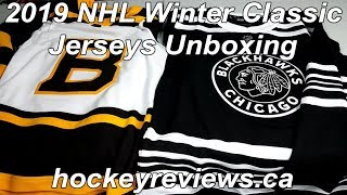 2019 NHL Winter Classic Boston Bruins & Chicago Blackhawks Adidas Authentic Jersey Unboxing