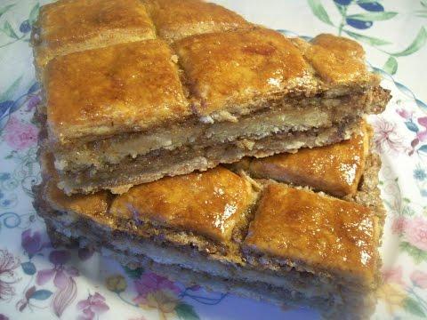 Сочинский пирог (ореховый)