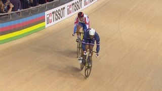 men s sprint finals 2015 uci track cycling world championships   st quentin en yvelines france