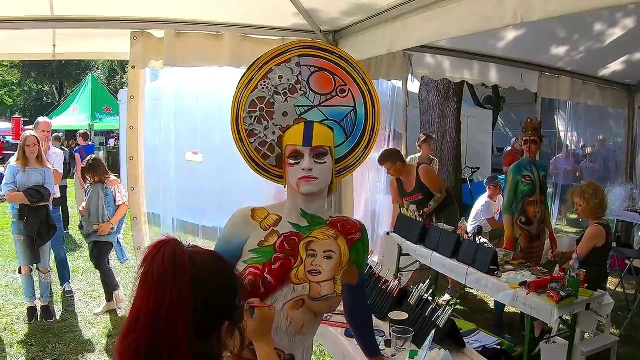 World Bodypainting Festival Klagenfurt Youtube