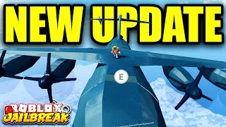 [FULL GUIDE] Jailbreak CARGO PLANE ROBBERY, ROADSTER, SKYDIVING | Roblox Jailbreak New Winter Update