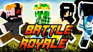 Minecraft - BATTLE ROYALE! [FUSSATOK!]