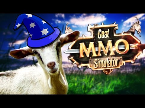 YOU'RE A WIZARD HARRY! | Goat MMO Simulator