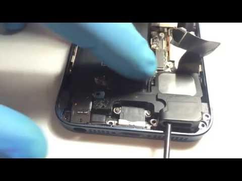 Cómo cambiar el conector de carga del iPhone 5