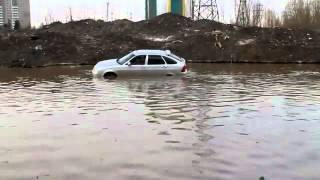 Отчаянный водитель Приоры