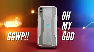 Black Shark 2 Frozen Silver: This Is The COOLEST Phone EVERR!!!