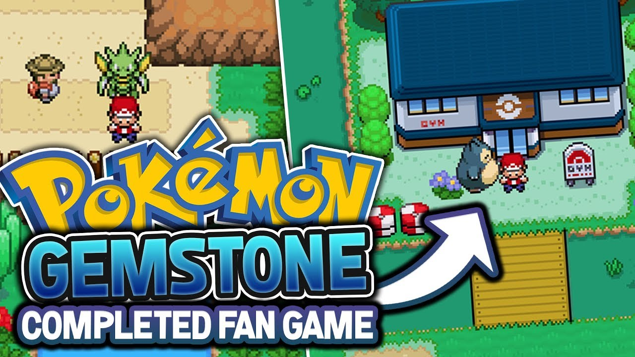 new completed pokemon fan game pokémon gem stone fan game