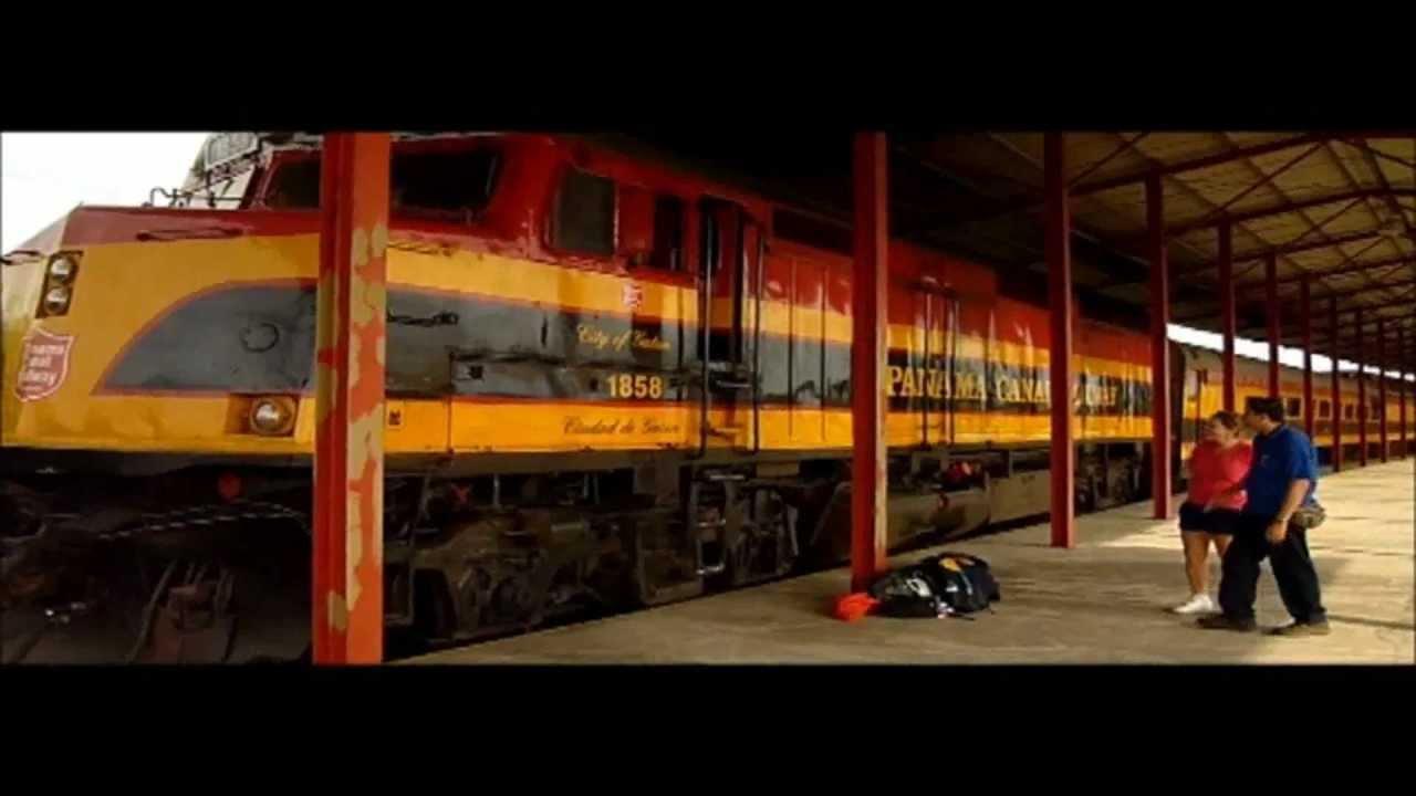 Panama Canal Railway Company Febrero 2013  YouTube
