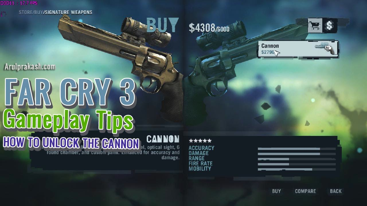Farcry 3: all weapons in-store list youtube.