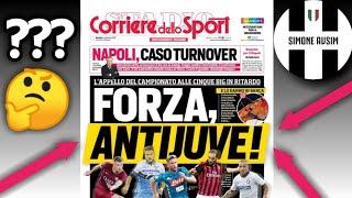 Corriere dello Sport si schiera contro la Juve? ||| Extra Avsim