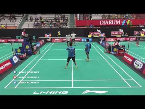Candra Halim / Jason Rivaldo Vs Hasnan A / Naufal D - DJARUM SIRNAS 2019 LIVE Gor Satria Purwokerto