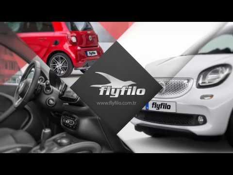 fly filo premium araç kiralama - mercedes benz smart forfour - youtube