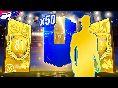 THIS IS CRAZY! 50 81+ 2 PLAYER PACKS! | FIFA 19 ULTIMATE TEAM