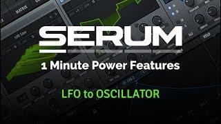 LFO to Oscillator - Serum 1 minute tips