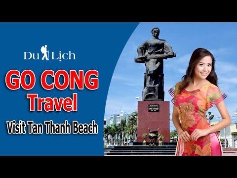 Viet Nam Travel - Visit Tan Thanh Beach, Go Cong