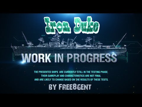 World of Warships [deutsch] – Iron Duke  Work in Progress