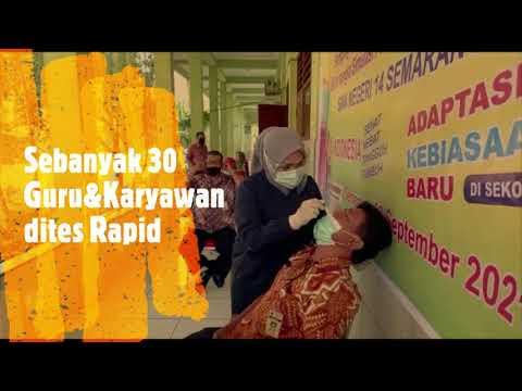 Galeri Video Tes Rapid Antigen Guru&Siswa SMA Negeri 14 Semarang