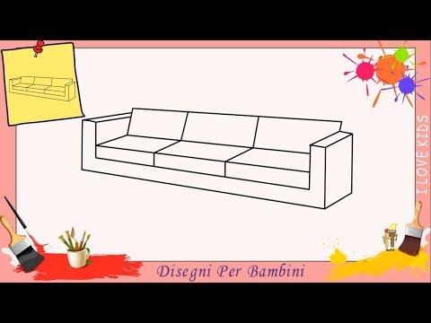 Divano Disegno Per Bambini.Disegni Di Divani Facili Per Bambini Come Disegnare Un Divano