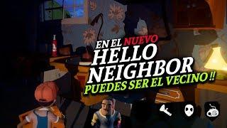 PUEDES LLEVAR AL VECINO EN EL NUEVO HELLO NEIGHBOR ! ES MULTIPLAYER!! #SECRETNEIGHBOR