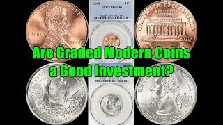 High Grade Modern Coins Still Selling for Thousands - Is This HOT Trend Sustainable Long Term?