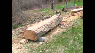 Freehand Chainsaw Lumber Part 2
