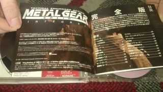Nostalgamer Unboxes Metal Gear Solid Integral PS One Books Version On Sony Playstation 1 One Japan