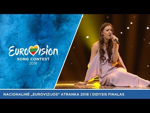 """Ieva Zasimauskaitė - """"When we're old""""  - Didysis Eurovizijos atrankų finalas 2018"""