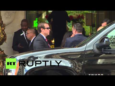 France: John Kerry arrives for talks with Lavrov