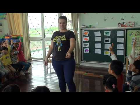 Kindergarten English Demonstration Class
